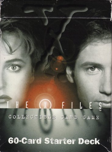 x-files collectible card game 60-card starter deck for sale  Delivered anywhere in USA
