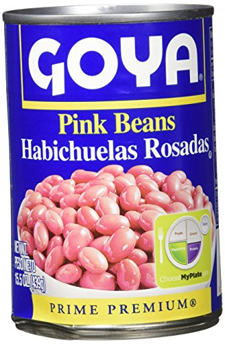 Beans Canned Goya - Goya Canned Pink Beans, 15.5 Ounce