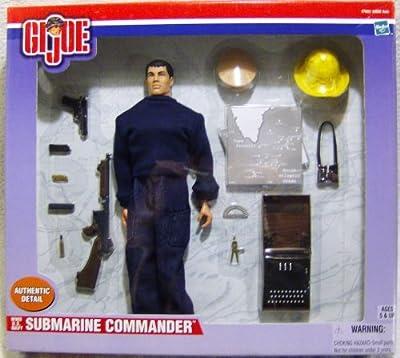 G I Joe WWII U.S. Navy Submarine Commander 12 Inch Figure Set
