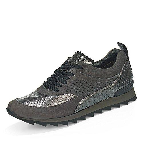 Kennel & Schmenger 20600-667 - Zapatos de cordones de Piel para mujer Gris - gris
