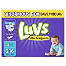 Luvs Ultra Leakguards Diapers, Size 2, 216 Count