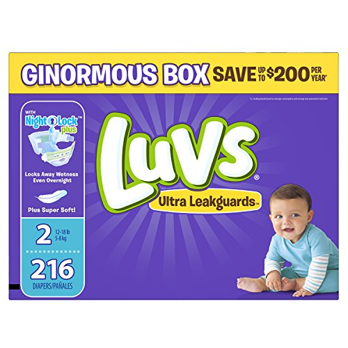 diapers size 2 - 4