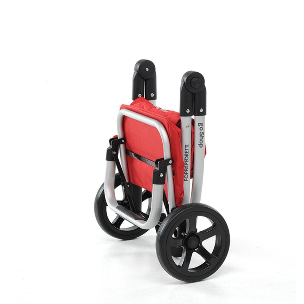 Aluminium Red Foppapedretti 97020024041/Chariot de Course