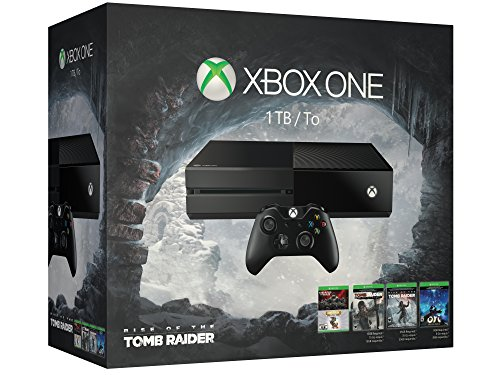 Microsoft Xbox One 1TB Console - 5 Games Holiday Bundle