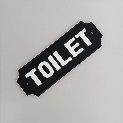 Placa de Pared, Cartel de Puerta Señales para Puerta WC ...