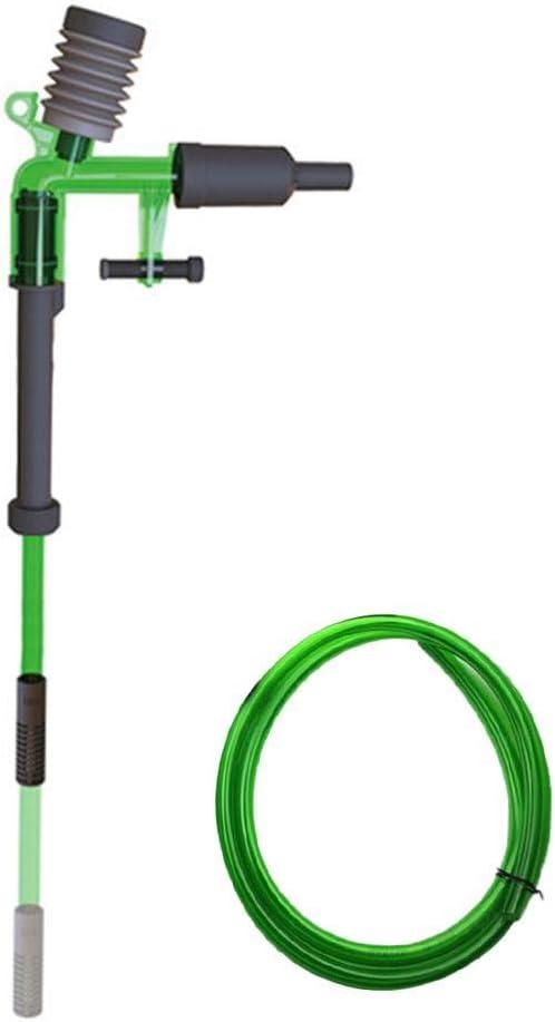Cypressen - Set de Recambio automático de Agua para Acuario, aspiración Multifuncional retráctil con Manguera de Grava, Kit de Limpieza al vacío
