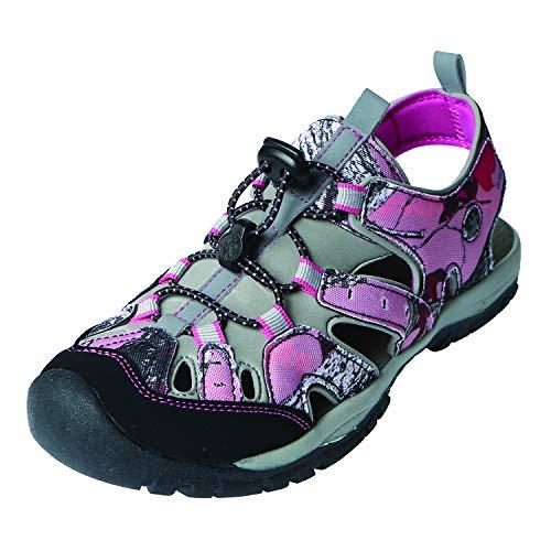 Northside Women's Burke II-W Sport Sandal, Pink Camo, 8 M US ()