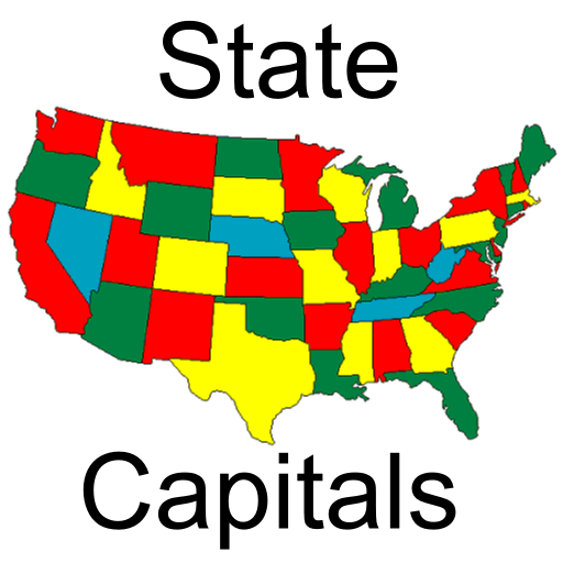 USA State Capitals (United States Puzzle Game)