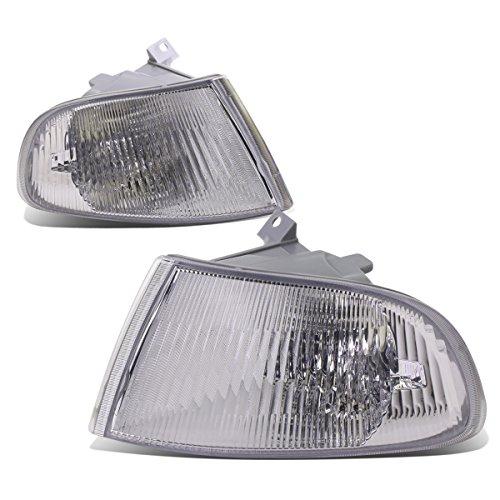 For Honda Civic 2/3-Door EJ1 EJ2 EG3 EH2 EH3 Pair of Corner Light Lamp - Chrome Housing (Civic Lights Corner Honda)