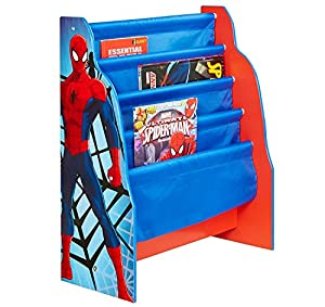 Beautiful Marvel Spider Man Kids Sling Bookcase   Bedroom Storage By HelloHome