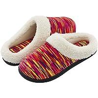 RockDove Women's Memory Foam Woolen Slippers (Various Colors)