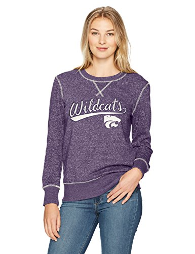 - NCAA Kansas State Wildcats Women's Ots Seneca Crew Neck Pullover, Large, Purple