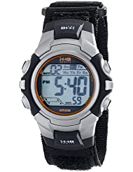 Timex Mens T5K455 1440 Two-Tone Resin Watch with Fast-Wrap Nylon Band