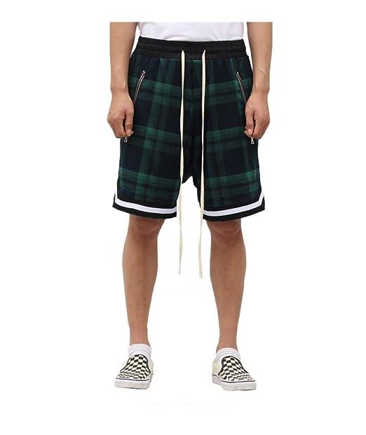 Amazon.com: DFCDNA pantalones cortos escoceses de los ...