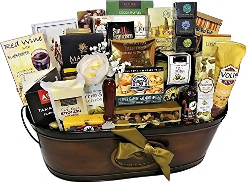 Gourmet Extravaganza Gift Basket by Goldspan Gift Baskets (Image #1)