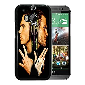 Beautiful And Durable Designed Case With jeff hardy et matt hardy Black For HTC ONE M8 Phone Case