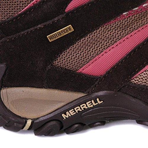 Merrell Damen Energis Mid Wanderschuh, Rosa, 38