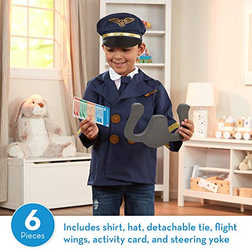 Melissa & Doug Pilot Role Play Costume Set (Dress-Up Pretend Play, 6 Pieces, Great Gift for Girls an - http://coolthings.us