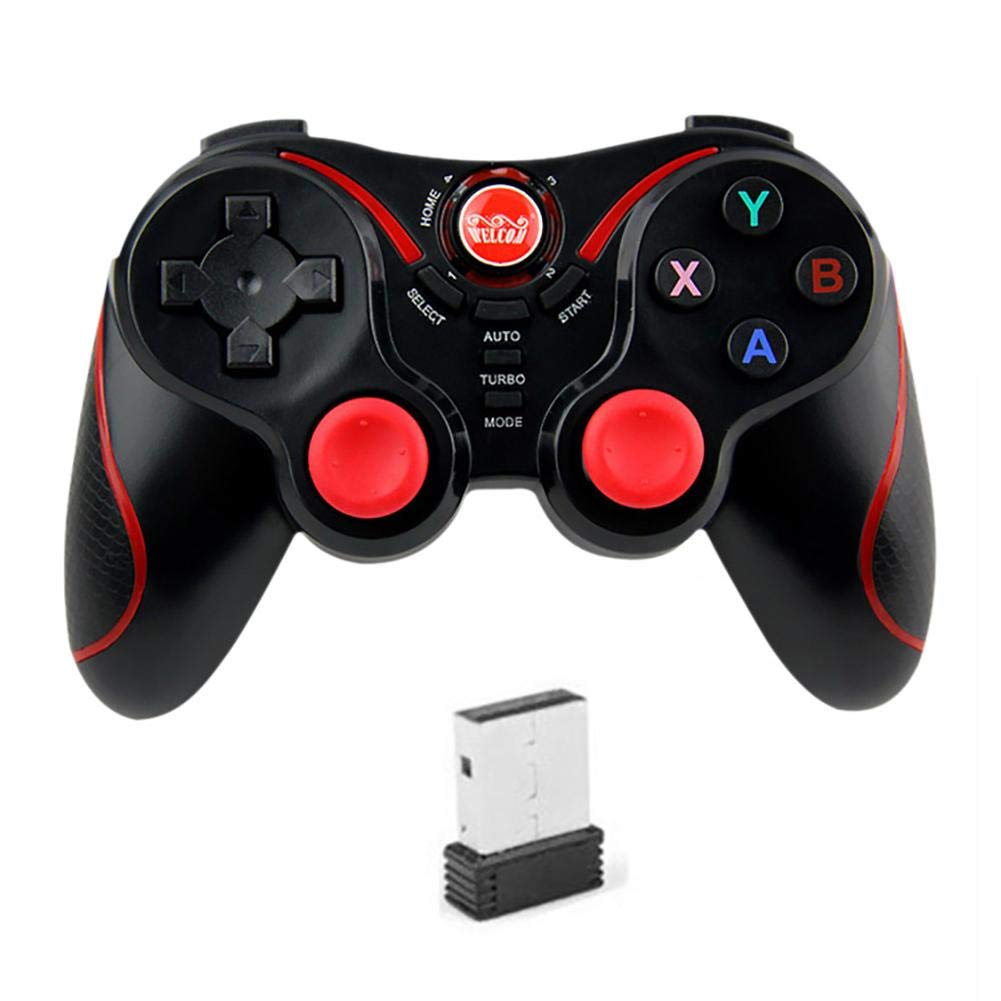keruite Universal Wireless Bluetooth Game Vibration  Handle,Support for Computer Android iOS Version Games