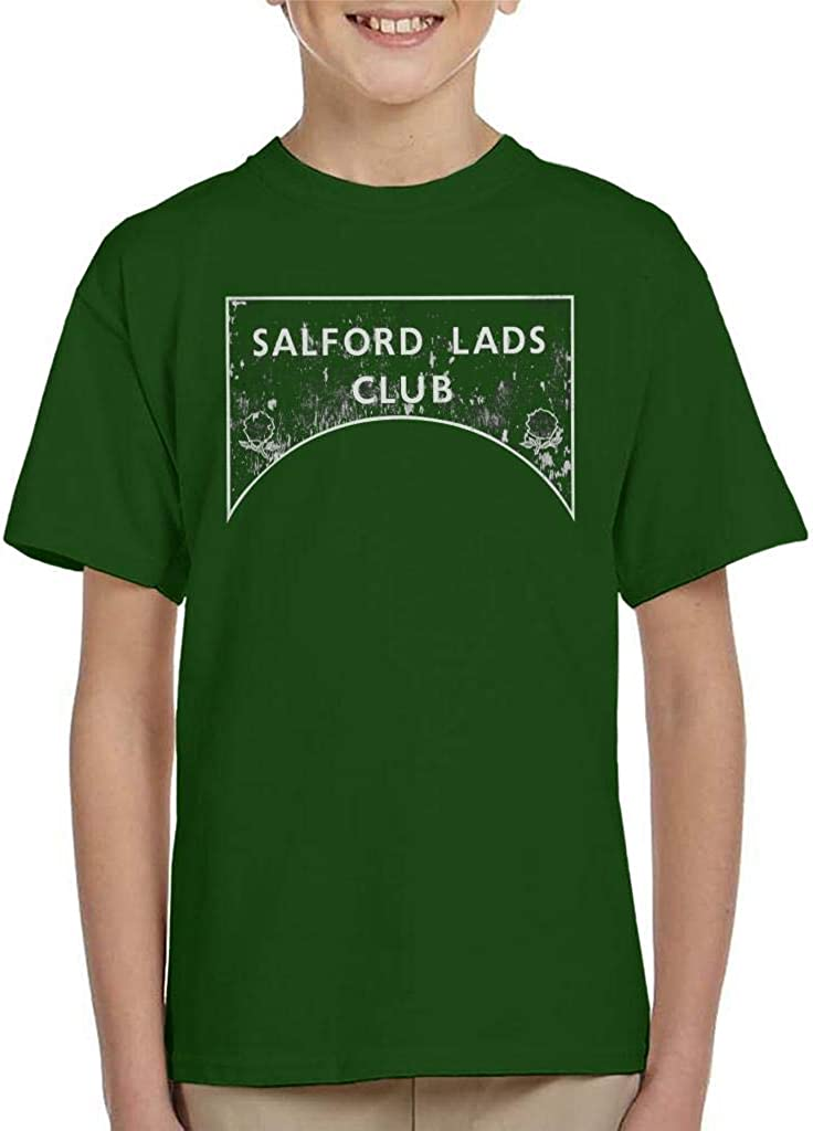 The Smiths and Friends Salford Lads Club Sign Greyscale Kids T-Shirt