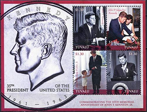 Tuvalu. 2009. The 10th Anniversary of The Death of John F. Kennedy Jr, 1960-1999 (MNH) Miniature Sheet