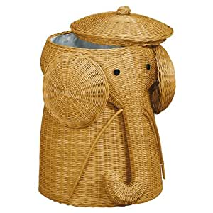 Home Decorators Collection Elephant Honey Laundry Hamper