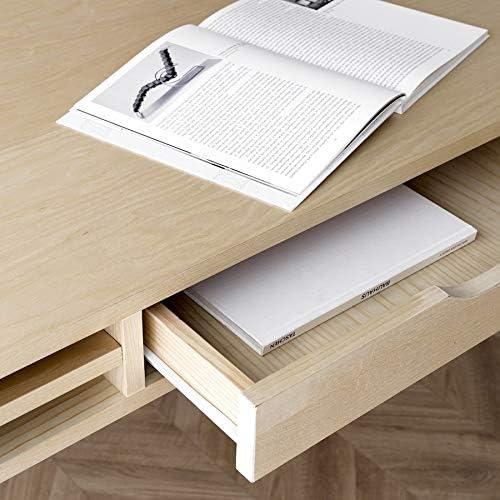 Kenay Home Escritorio Fresno Blanco Mons 120cm: Amazon.es: Hogar
