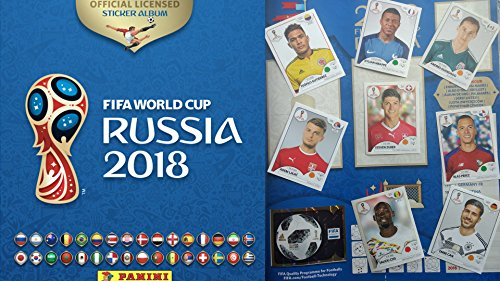 COMPLETE Collection Panini 2018 RUSSIA World cup 682 Stickers + Album FIFA USA edition by Panini