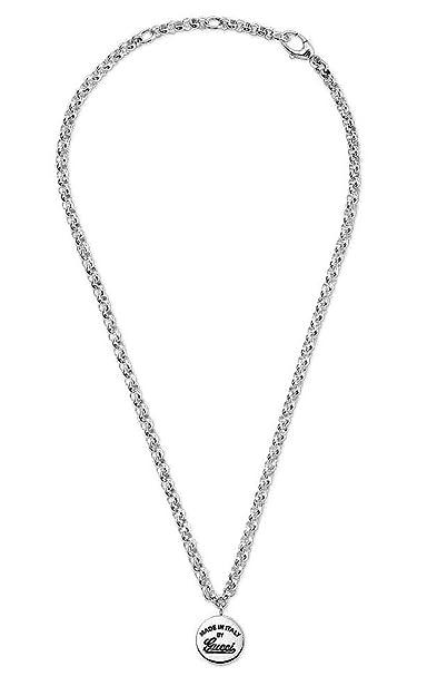 a234229a Gucci YBB31109500100U Craft Men's Necklace: Amazon.co.uk: Jewellery