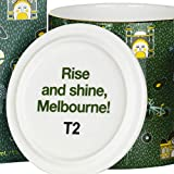 T2 Tea Iconic Fine Bone China Mug with Stainless