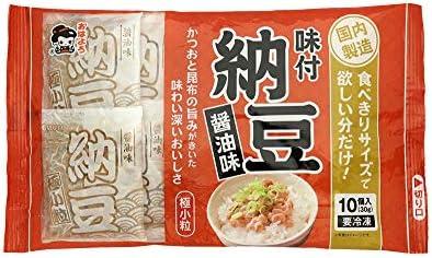 [冷凍] 業務用 大容量 ヤマダフーズ 極小粒 納豆 30g しょうゆ味 10入×10個