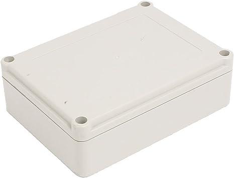 Aexit Gabinete de proyecto eléctrico de caja de conexiones a prueba de polvo (model: T5319VIIO-9722UY) ABC de 140mmx105mmx45mm: Amazon.es: Bricolaje y herramientas
