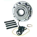 515081 Front Wheel Bearing and Hub Assembly for 2005-2010 Ford F-250 F-350 Super Duty 4WD with ABS Round Connector