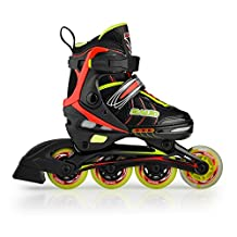 Rollerblade for Kid's Adjustable Boys Girls Inline Skate ABEC-5 different sizes and colors
