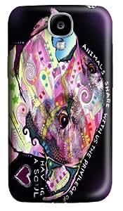Pibble Polycarbonate Hard Case Cover for Samsung Galaxy S4/Samsung Galaxy I9500 3D wangjiang maoyi