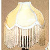 Meyda Tiffany 21052 Fabric & Fringe Recurve Lamp Shade - 6