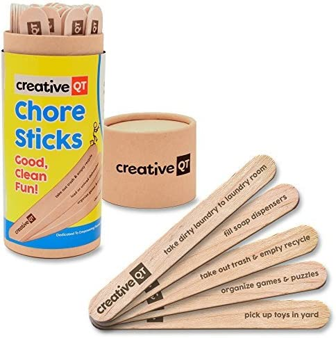 picture of Creative QT Chore Sticks for Kids » Make Chores a Game