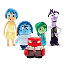 15.7 inch 40cm Inside Out plush soft toys dolls Joy Fear Anger Disgust Sadness in set by Gift Story