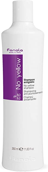 Fanola No Yellow Shampoo, 11.8 Fl Oz
