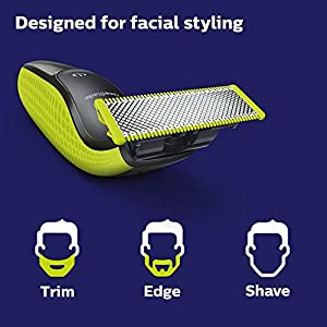 Philips Norelco OneBlade, Hybrid Electric Trimmer and Shaver, QP2520/70