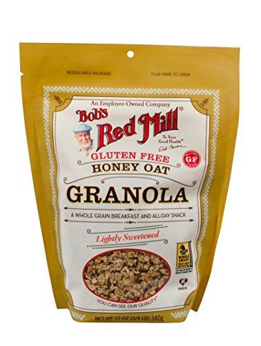 - Bob's Red Mill Gluten Free Honey Oat Granola, 12-ounce