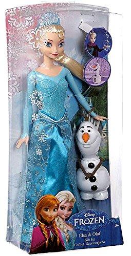 Disney-Frozen-Princess-Elsa-and-Olaf-Doll-Gift-Set