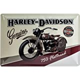 Plaque métal Harley Davidson Genuine