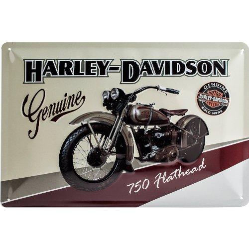 4 opinioni per Harley-Davidson Genuine Targa in metallo, 20 x 30 cm
