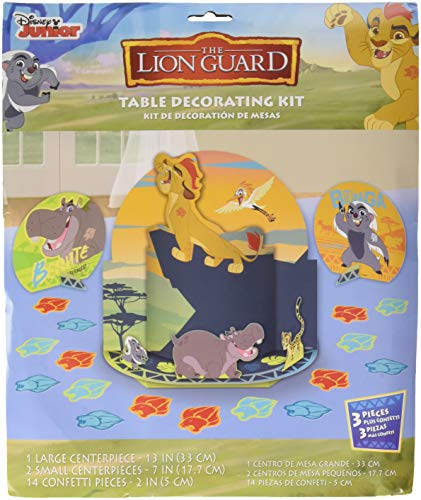 Amscan Disney The Lion Guard Table Decorating Kit, Party Favor]()