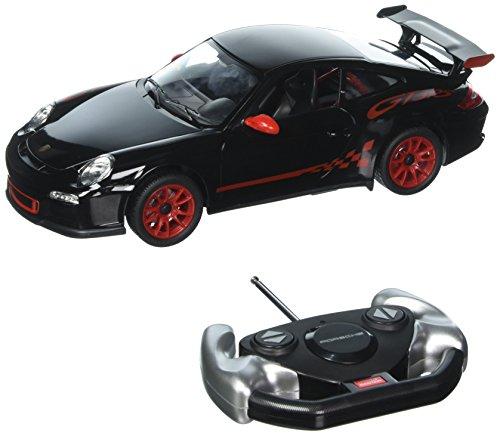 Radio Remote Control Car 1/14 Scale Porsche 911 GT3 RS RC RTR Black by RASTAR