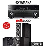 Yamaha AVENTAGE RX-A860BL 7.2 Channel Network AV Receiver + Polk Audio TSi 500 + Polk Audio TSi 200 + Polk Audio CS10 + Polk Audio PSW110 - 5.1 Home Theater Package