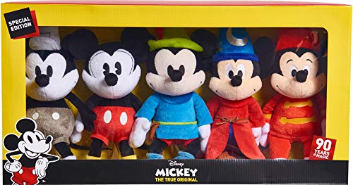 - Mickey's 90th Anniversary Limited Edition 5 piece Collector's Plush Set