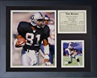 "Legends Never Die ""Tim Brown Raiders"" Framed Photo Collage, 11 x 14-Inch"