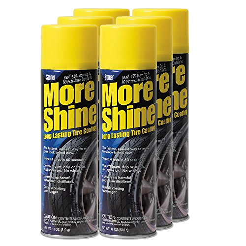 Stoner Car Care 91084-6PK More Shine Tire Dressing - 108-Fluid Ounces 6-Pack